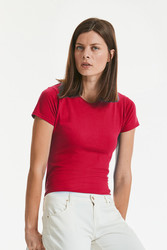R155F Russell Ladies Slim T-shirt donna slim-fit 100% cotone