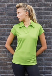 PA483 Proact Polo donna tessuto tecnico cool plus