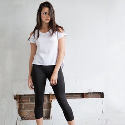 SK068 Skinny Fit Leggings 3/4 donna