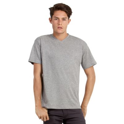 TU006 B&C Exact V-neck T-shirt scollo a V 100% cotone regular fit Thumbnail