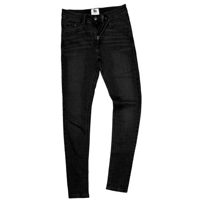 SD014 AWDis So Denim Lara Pantalone Jeans Donna Skinny-fit stretch Thumbnail
