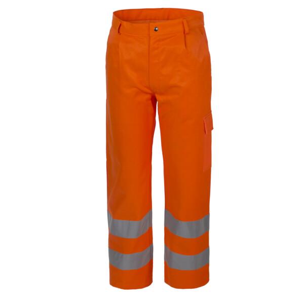 lucentex Pantalone Invernale Imbottito Alta Visibilita Catarifrangente Arancio CE II A00117
