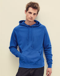 621400 Fruit of the Loom Lightweight Hooded Sweat Felpa uomo leggera con cappuccio