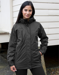 R400F Result Parka donna con giacca interna in softshell staccabile