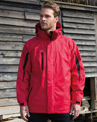 R400M Result Parka uomo con giacca interna in softshell staccabile
