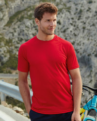 613900 Fruit of the Loom Performance T-shirt Uomo Sport manica raglan 100% poliestere