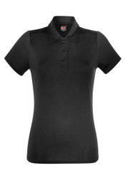 630400 Fruit of the Loom Lady-Fit Performance Polo donna tessuto tecnico traspirante 100% poliestere