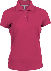 K242 Kariban Ladies Pique Polo Shirt Polo piquet donna 100% Cotone lavabile a 60°