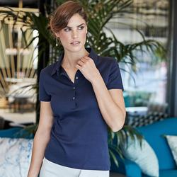1441 Tee Jays Polo Ladies Pima Cotton Polo donna collo a camicia e taglio sartoriale