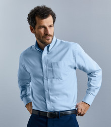R932M Russell Camicia oxford button-down Easy Care. Da lavoro, Corporate, Ristorazione.