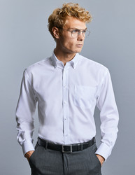 "R956M Russell Camicia uomo botton-down e taschino 100% cotone ""non-stiro"". Corporate, Fiere, Eventi."
