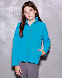 ST5170 Stedman Active Children's Fleece Jacket Giacca bambino in micropile con zip lunga