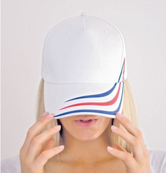 Alien Flag Atlantis Cappellino baseball con flag applicata su visiera