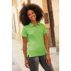 630300 Fruit Of The Loom Lady Fit Premium Polo donna slim fit 100% cotone pettinato Thumbnail