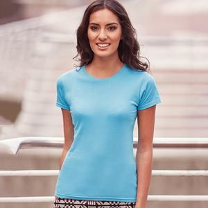 R155F Russell Ladies Slim T-shirt donna slim-fit 100% cotone Thumbnail