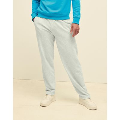 640380 Fruit of the Loom Pantaloni uomo tuta leggeri fondo dritto Thumbnail