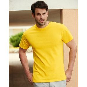 612120 Fruit of the Loom T-Shirt unisex girocollo 100% cotone tessuto pesante gr.190 Classic Fit Thumbnail