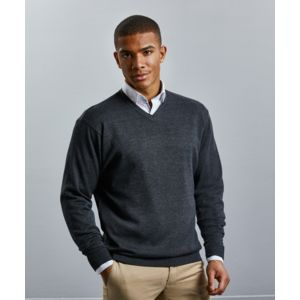 R710M Russell Pullover uomo scollo a V Thumbnail