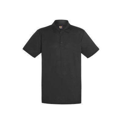 630380 Fruit of the Loom Mens Performance Polo uomo tessuto tecnico traspirante 100% poliestere Thumbnail