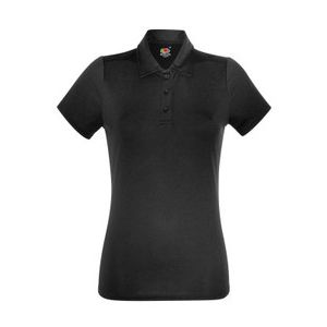 630400 Fruit of the Loom Lady-Fit Performance Polo donna tessuto tecnico traspirante 100% poliestere Thumbnail