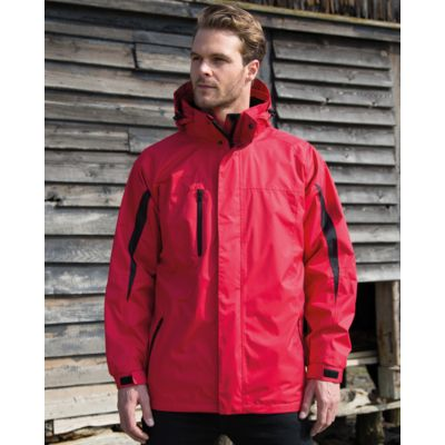 R400M Result Parka uomo con giacca interna in softshell staccabile Thumbnail