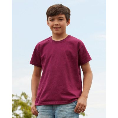 610190 Fruit of the Loom Kids Original Tee T-shirt bambino manica corta 100% cotone Thumbnail