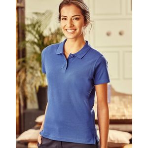 R577F Russell Ladies' Ultimate Cotton Polo donna cotone pre-ristretto lavabile a 60° Thumbnail