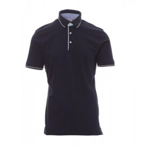 Cambridge Payper Polo uomo manica corta inserti in oxford jersey 100% cotone 175 gr Thumbnail