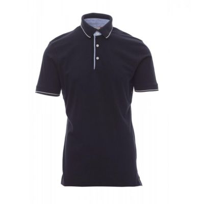 Cambridge Payper Polo uomo jersey inserti in oxford Thumbnail