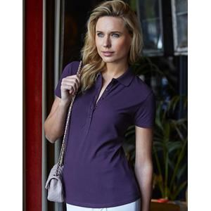 145 Tee Jays Ladies Luxury Stretch Polo donna 5 bottoni luxury stretch 95% cotone 5% elastane Thumbnail