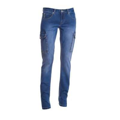 Hummer Lady Payper Jeans donna elasticizzato tasconi laterali Thumbnail