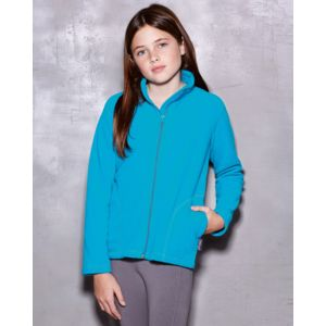 ST5170 Stedman Active Children's Fleece Jacket Giacca bambino in micropile con zip lunga Thumbnail