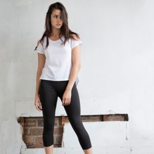 SK068 Skinny Fit Leggings 3/4 donna Thumbnail