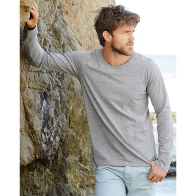ST9620 Stedman Clive Long Sleeve T-Shirt uomo maniche lunghe tessuto elasticizzato Slim fit Thumbnail