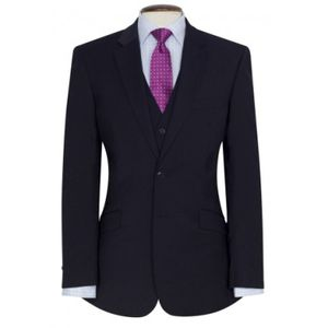 5647 Brook Taverner Avalino Giacca uomo Tailored Fit a 2 bottoni 54% poliestere 44% lana 2% Lycra Thumbnail