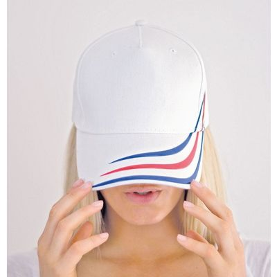 Alien Flag Atlantis Cappellino baseball con flag applicata su visiera  Thumbnail