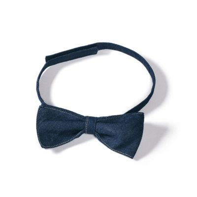 AUD02 B&C DNM Bow-Tie Papillon in denim Thumbnail