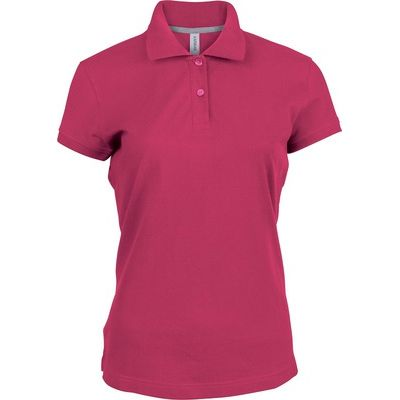 K242 Kariban Ladies Pique Polo Shirt Polo piquet donna 100% Cotone lavabile a 60° Thumbnail