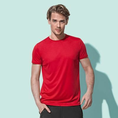 ST8000 Stedman Active sport T-shirt uomo poliestere Active-Dry. Slim Fit Thumbnail