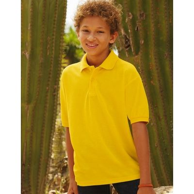 FR634170 Fruit of The Loom Polo bambino maniche corte 65% poliestere, 35% cotone Thumbnail
