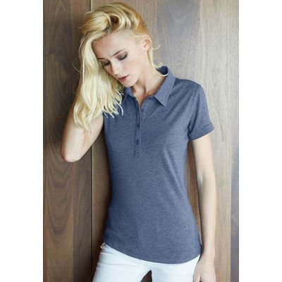 K208 Kariban Polo donna fit in Jersey misto Melange Thumbnail