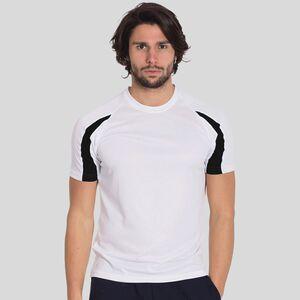 T-Shirt Sportiva Maglietta Uomo Traspirante Running Calcio Sport AwDis JC001