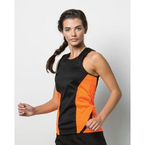 KK963 Gamegear Donna Cooltex Sports Vest 100% poliestere Thumbnail