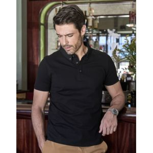 TJ1410 Tee Jays Mens Fashion Stretch Polo uomo cotone elasticizzato mini piquet Thumbnail