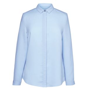 2298 Brook Taverner Blusa donna manica lunga con colletto  Thumbnail