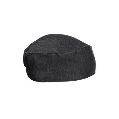 PR653 Premier Cappello da chef in denim elasticizzato Thumbnail