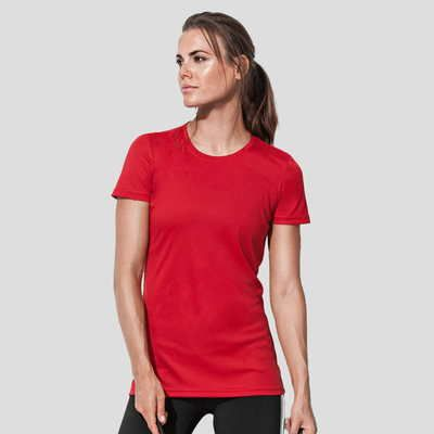 ST8100 Stedman Active sport T-shirt donna poliestere Active-Dry. Slim Fit Thumbnail