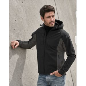 9514 Tee JaysLightweight Performance Giacca uomo in softshell bicolore con cappuccio, 260gr Thumbnail