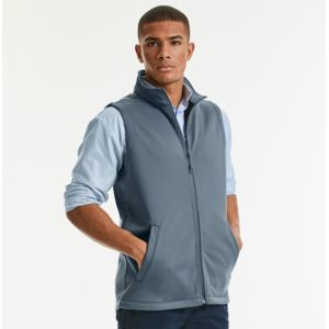 R041M Russell Gilet uomo in softshell Thumbnail