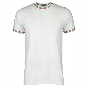 Flag Payper T-shirt con tricolore su colletto e maniche Thumbnail